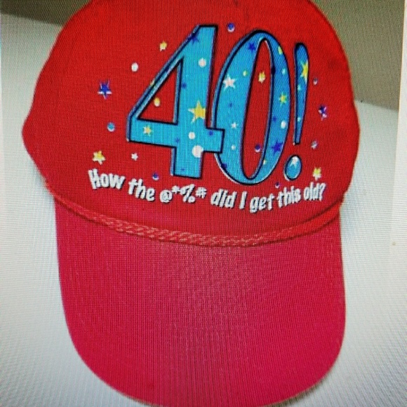 7e0acbecf23 40th Birthday Baseball Cap Hat How the   %  did I